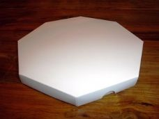 8 x 8 Octagon Greeting Card Box with Card Blanks